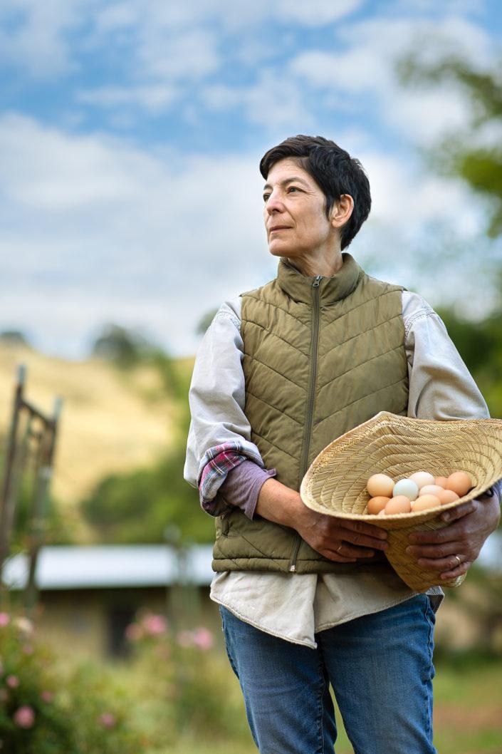 portrait, environmental portrait, location photography, travel photography, tourism photography, travel and tourism, farmer portrait, California farmer, female farmer, woman farmer